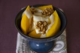 Mango Nuts Dessert