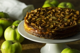 Baked Apple Cheesecake