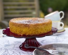 Vanilla polenta Cake